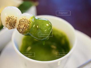 抹茶チョコフォンデュの写真・画像素材[1667035]