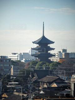 東寺の写真・画像素材[1667178]