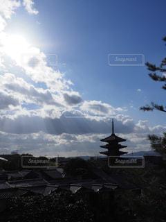 八坂の塔の写真・画像素材[1667192]