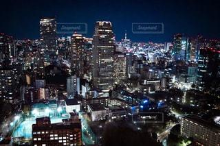 東京タワーからの夜景の写真・画像素材[1682620]