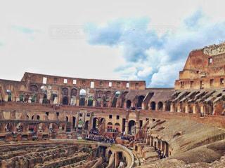 空,屋外,観光地,ローマ,鮮やか,旅行,イタリア,海外旅行,コロッセオ,観光スポット,日中