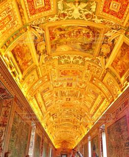 室内,観光地,鮮やか,旅行,天井,イタリア,海外旅行,観光スポット,金色,ヴァチカン美術館