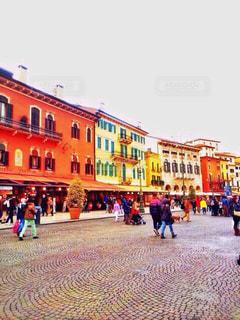 建物,カラフル,景色,鮮やか,家,旅行,イタリア,海外旅行,日中