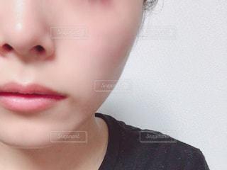 すっぴん肌の写真・画像素材[2302503]
