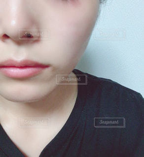 洗顔後の肌の写真・画像素材[2302520]