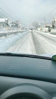 道,通勤,車両,凍る