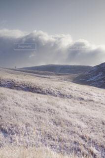 霧ヶ峰の霧氷草原の写真・画像素材[1789330]