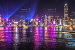 夏の香港・ヴィクトリアハーバー編の写真・画像素材[1816099]