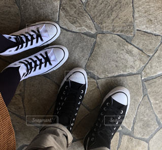 お揃いの靴を履いて…♡の写真・画像素材[1806448]