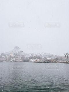 自然,空,冬,雪,屋外,白,山,ディズニーシー,ディズニー,ホワイト,積雪,日中,ホワイトカラー