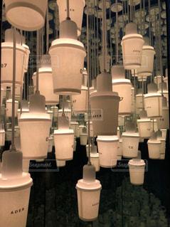 屋内,コップ,キャンドル,ランプ,明るい,ホワイト