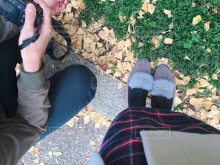 公園デートの写真・画像素材[1638783]