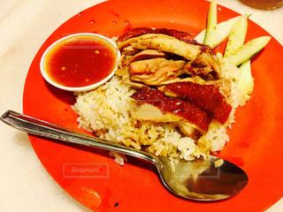 食事,海外,昼食,マレーシア,食事中,チキンライス,ローカルフード