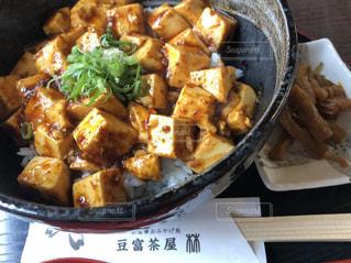 食べ物,豆腐,料理,麻婆丼