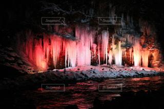 奥秩父三十槌の氷柱が綺麗でしたの写真・画像素材[1781038]