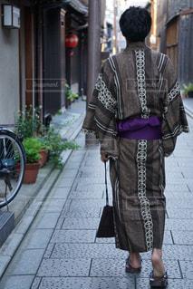 京都,後ろ姿,人,浴衣