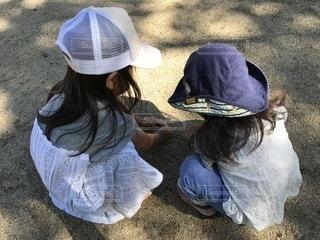 子ども,公園,後ろ姿,少女,人物,背中,幼児