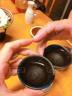 日本酒で乾杯!の写真・画像素材[2633409]