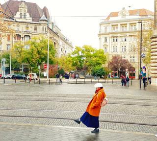 ブダペストの街並みの中で。の写真・画像素材[1671829]