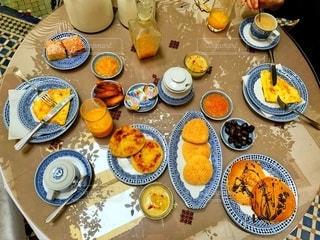 モロッコのホテルの朝食の写真・画像素材[2765480]