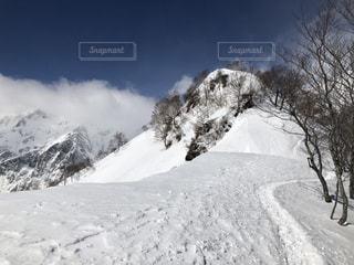雪,白,雪山