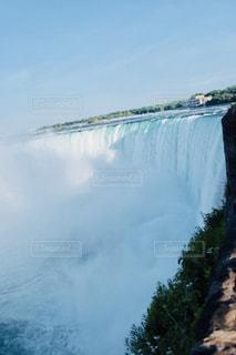 自然,風景,屋外,白,水,水面,滝,水しぶき,旅行,ホワイト,ナイアガラの滝
