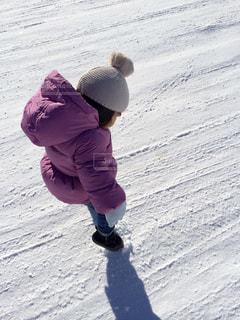 子ども,雪,屋外,白,子供,人物,人,ホワイト