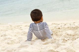 白い砂浜の写真・画像素材[1663691]