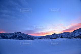 自然,風景,空,冬,朝日,雲,景色,美しい,朝焼け,日の出,新潟県,六日町