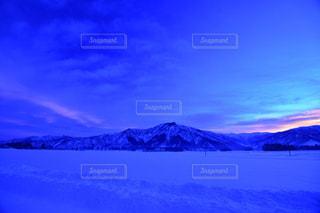 自然,風景,空,冬,雪,夜明け,美しい,朝焼け