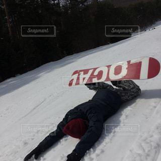 雪,屋外,人物,人,スノーボード,斜面