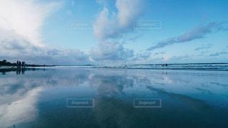 風景,雲,水面,観光,オーストラリア,リフレクション,フォトジェニック,ヌーサ,鏡撮り