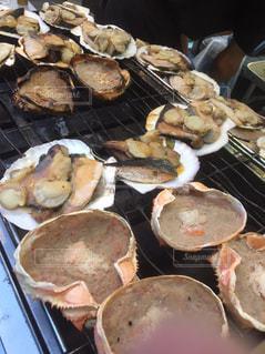食べ物,秋,冬,食事,グリル,料理,蟹,ホタテ,ベーキング