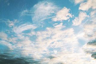 自然,風景,空,屋外,白,雲,夕焼け,夕暮れ,写真,明るい,フィルム,日中,インスタ映え
