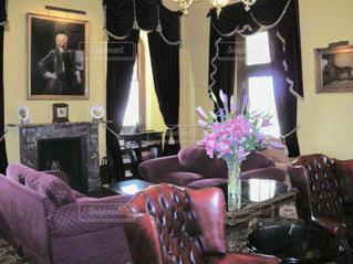 リビング ルーム 家具 暖炉 メルボルンの写真・画像素材[1804603]