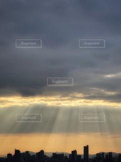 天使のはしごの写真・画像素材[1864400]