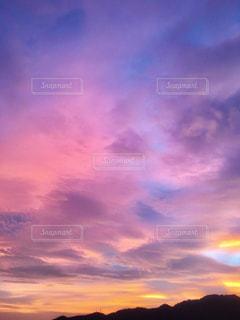 夏、神戸の夕景(2018年7月28日 19:15撮影)の写真・画像素材[1865585]
