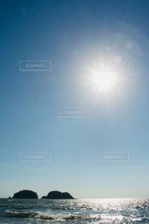 自然,風景,海,空,太陽,光,日中
