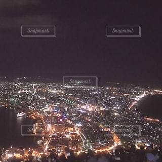 函館山の夜景の写真・画像素材[1681295]