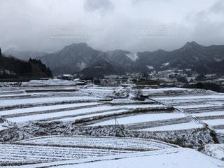 冬,雪,雪景色,棚田,景色,九州,宮崎,高千穂,雪化粧,大雪,白銀