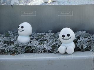 雪,白,雪だるま,可愛い,寒い