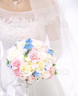 花嫁のブーケの写真・画像素材[1659039]
