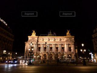 夜,屋外,海外,ヨーロッパ,観光,旅行,フランス,パリ,海外旅行,映画,オペラ座,オペラ,ガルニエ,レジャー・趣味