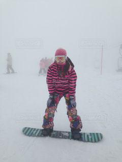 冬,屋外,白,カラフル,綺麗,白い,オシャレ,可愛い,スキー,寒い,思い出,スキー場,ホワイト,冷たい,スノーボード,自分,日中,私,真冬,ボード,スノー