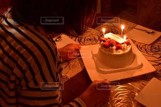 バースデーケーキの写真・画像素材[2309924]