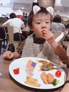 カレー,外食,美味しい,夕食,お子様ランチ,贅沢した