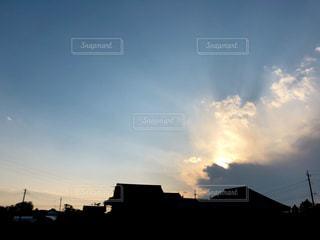 空の雲の写真・画像素材[2428264]