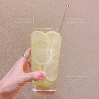 黄色,コップ,レモン,ドリンク,きいろ,飲料,マドラー