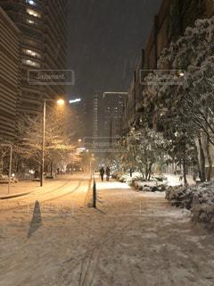 雪,白,タワーマンション,銀世界,タワマン,都会の雪