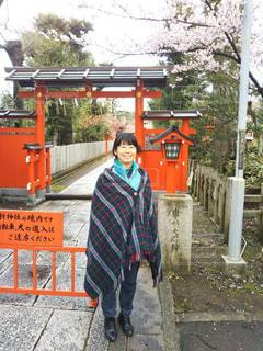 車折神社にての写真・画像素材[1667686]